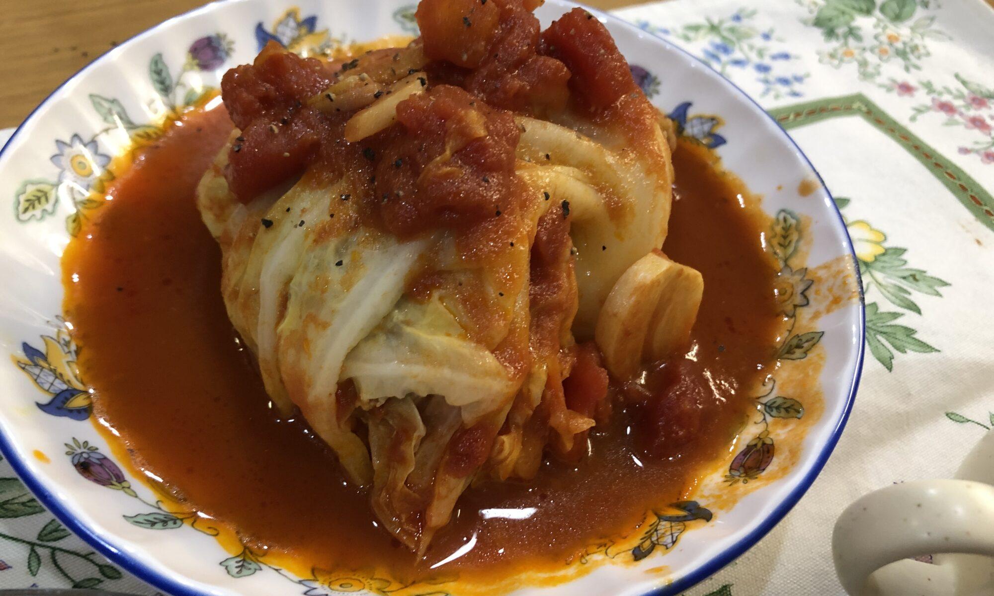 豆腐ロールキャベツ
